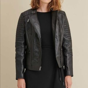 Wilson's Leather Hadley Quilted Leather Jacket NEW